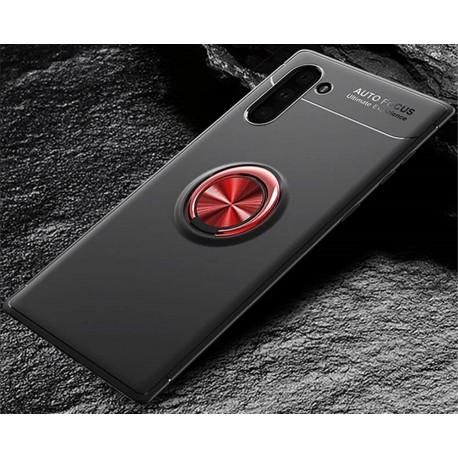 Etui na telefon Samsung Galaxy Note 10 KARBON RING HOLDER Złote