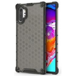 Etui na telefon Samsung Galaxy Note 10+ ARMOR Plaster Miodu czarne