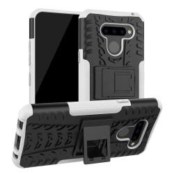 LG K50 / Q60 etui na telefon Pancerne Armor - Pomarańczowe