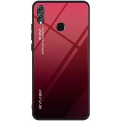 Etui na telefon Huawei P Smart Z , GRADIENT szklane granatowe