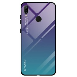 Etui na telefon Huawei P Smart Z , GRADIENT szklane turkus