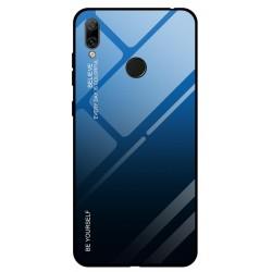 Etui na telefon Huawei Y6 2019 , GRADIENT szklane turkus
