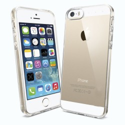 Silikonowe Etui CRYSTAL CASE do iPhone 5, 5S, SE