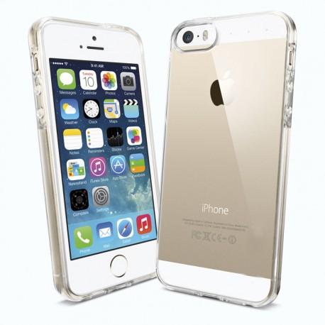 Silikonowe Etui CRYSTAL CASE do iPhone 5, 5S, SE