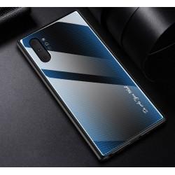 Etui na telefon Samsung Galaxy Note 10+ Plus GRADIENT szklane czerwone