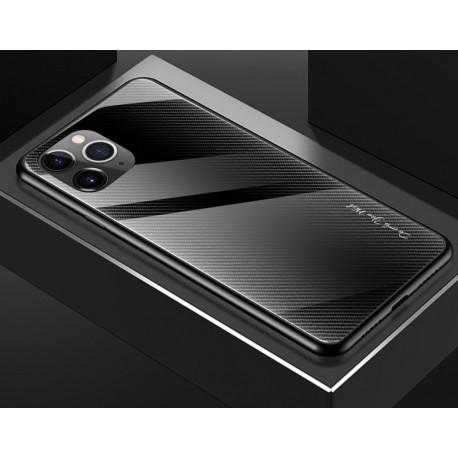 Etui na telefon Samsung Galaxy Note 10+ Plus GRADIENT szklane czarne
