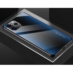 Etui na telefon GRADIENT szklane iPhone 11 Pro niebieskie