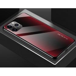Etui na telefon GRADIENT szklane iPhone 11 Pro czerwone