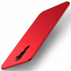Etui na telefon Silky Touch Czerwone do Oppo A5 2020