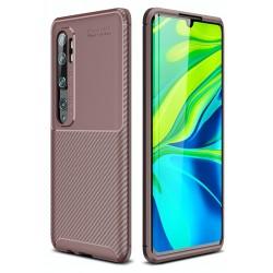 Etui na telefon KARBON case Brązowe do Xiaomi Mi Note 10