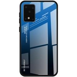 Etui na telefon GRADIENT szklane granatowe do Samsung Galaxy S20 Ultra