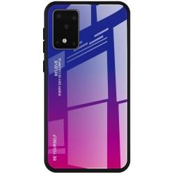 Etui na telefon GRADIENT szklane różowe do Samsung Galaxy S20 Ultra