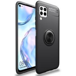 Etui na telefon RING HOLDER czarne do Huawei P40 Lite