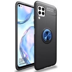 Etui na telefon RING HOLDER niebieskie do Huawei P40 Lite