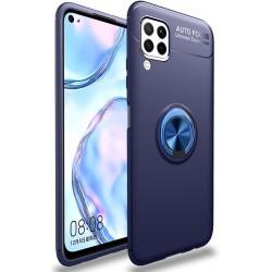 Etui na telefon RING HOLDER blue do Huawei P40 Lite