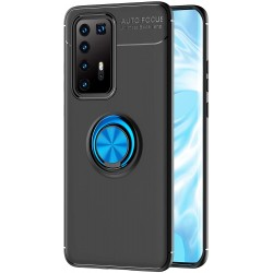 Etui na telefon RING HOLDER niebieskie do Huawei P40 Pro