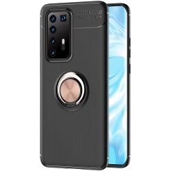 Etui na telefon RING HOLDER złote do Huawei P40 Pro