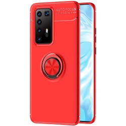 Etui na telefon RING HOLDER red do Huawei P40