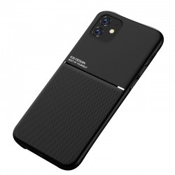 Etui na telefon Business Magnet case czarne do iPhone 11