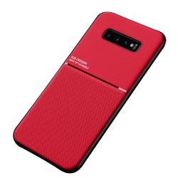 Etui na telefon Business Magnet case czerwone do Samsung Galaxy S10+ Plus