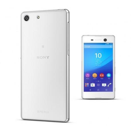 Sony Xperia M5 Etui Silikonowe 0,3mm + Szkło Hartowane 9H 2.5D