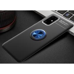 Etui na telefon RING HOLDER niebieskie do Samsung Galaxy A21s