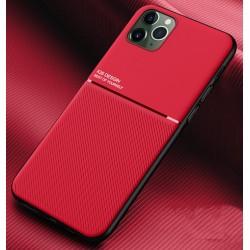 Etui na telefon Business Magnet case czerwone do iPhone 12