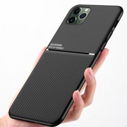 Etui na telefon Business Magnet case czarne do iPhone 12 Pro