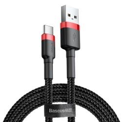 Baseus Cafule kabel 2m USB - USB-C 2A oplot MOCNY