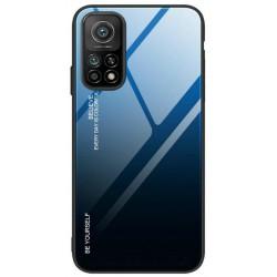 Etui na telefon GRADIENT granatowe do Xiaomi Mi 10T / Mi 10T Pro