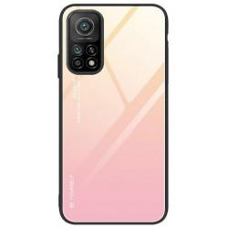 Etui na telefon GRADIENT żółte do Xiaomi Mi 10T / Mi 10T Pro