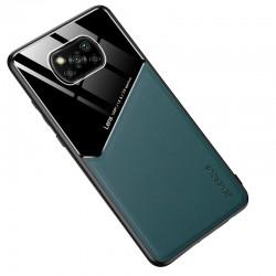 Etui na telefon Magnet zielone do POCO X3 NFC