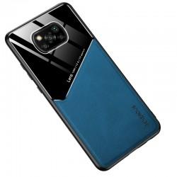Etui na telefon Magnet niebieskie do POCO X3 NFC