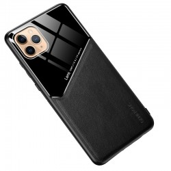 Etui na telefon Magnet czarne do iPhone 12 Pro