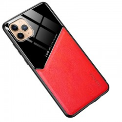 Etui na telefon Magnet czerwone do iPhone 12 Pro