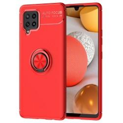 Etui na telefon RING HOLDER 4w1 red do Samsung Galaxy A42 5G
