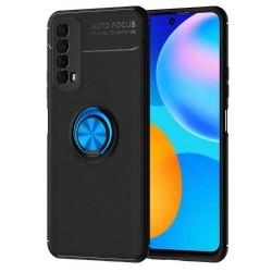 Etui na telefon RING HOLDER 4w1 niebieskie do Huawei P Smart 2021