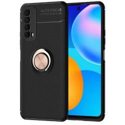 Etui na telefon RING HOLDER 4w1 złote do Huawei P Smart 2021