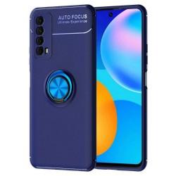 Etui na telefon RING HOLDER 4w1 blue do Huawei P Smart 2021