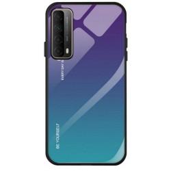 Etui na telefon GRADIENT turkus do Huawei P Smart 2021