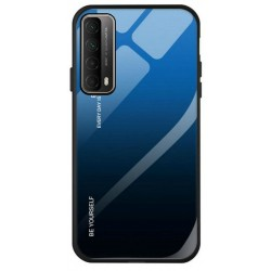Etui na telefon GRADIENT granatowe do Huawei P Smart 2021