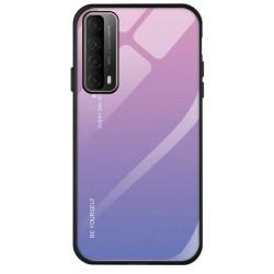 Etui na telefon GRADIENT fioletowe do Huawei P Smart 2021