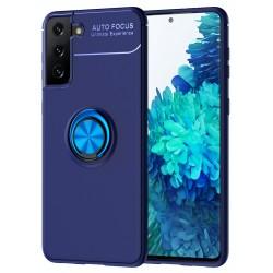 Etui na telefon RING HOLDER 4w1 blue do Samsung Galaxy S21+ Plus
