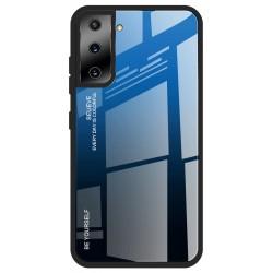 Etui na telefon GRADIENT granatowe do Samsung Galaxy S21