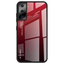 Etui na telefon GRADIENT czerwone do Samsung Galaxy S21