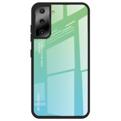 Etui na telefon GRADIENT zielone do Samsung Galaxy S21