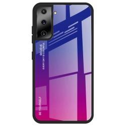 Etui na telefon GRADIENT różowe do Samsung Galaxy S21
