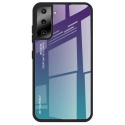 Etui na telefon GRADIENT turkus do Samsung Galaxy S21+ Plus