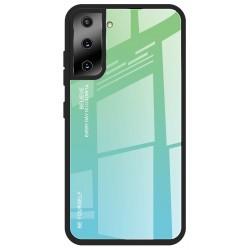 Etui na telefon GRADIENT zielone do Samsung Galaxy S21+ Plus