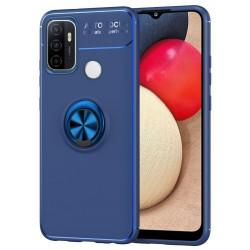 Etui na telefon RING HOLDER 4w1 blue do OPPO A53 2020